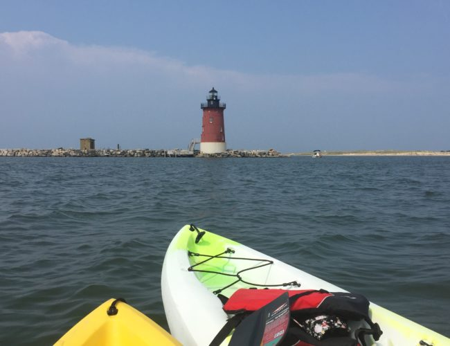 Delaware Bay History from Afloat for those who love kayaking, history and all things lighthouse.