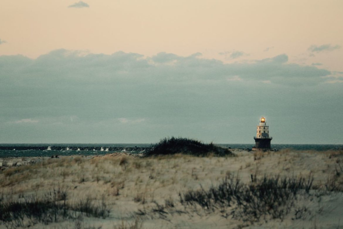 The Habor of Refuge Lighthouse by Jen Bell