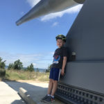 Enzo at Fort Miles Battery in Cape Henlopen State Park
