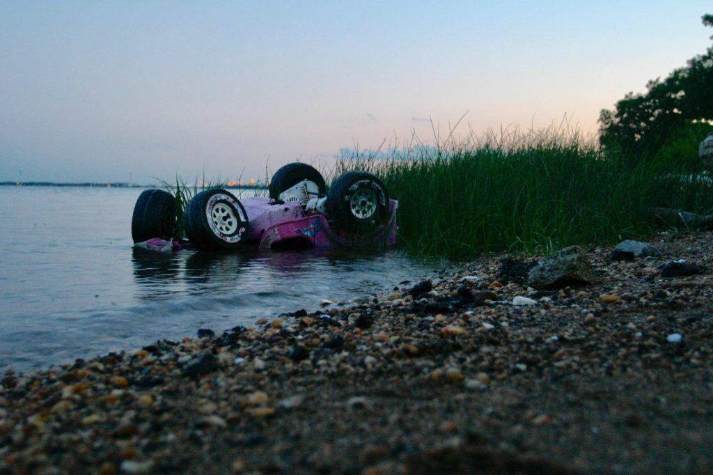 Jen Bell Delaware River Plastic Trash 2004