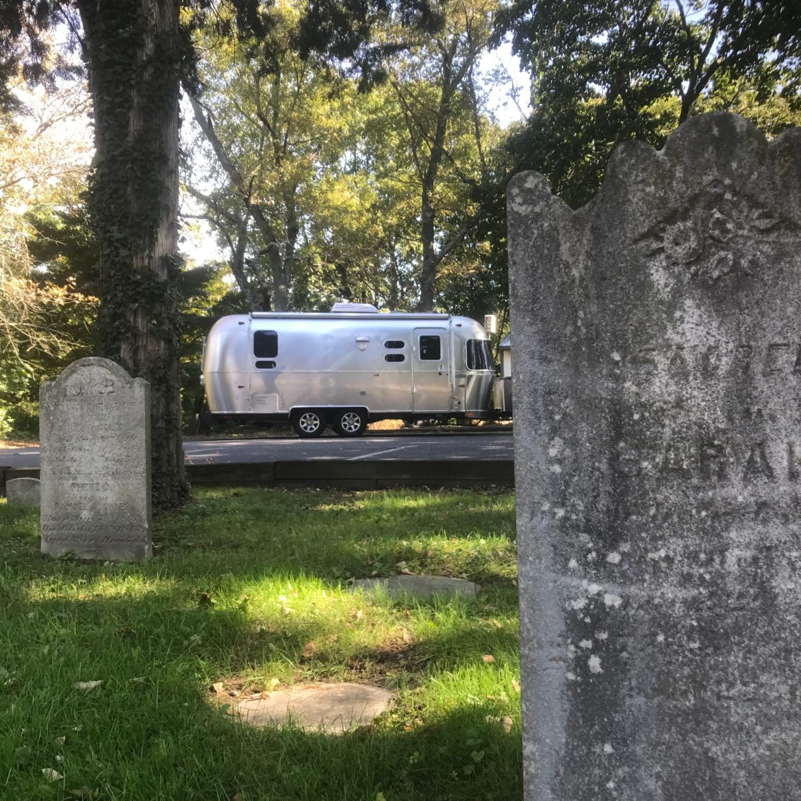 Airstream in Haunted South Jersey this Fall for Halloween Fun. NJ is home to so much haunted history in Salem, Gloucester & Cumberland Counties.