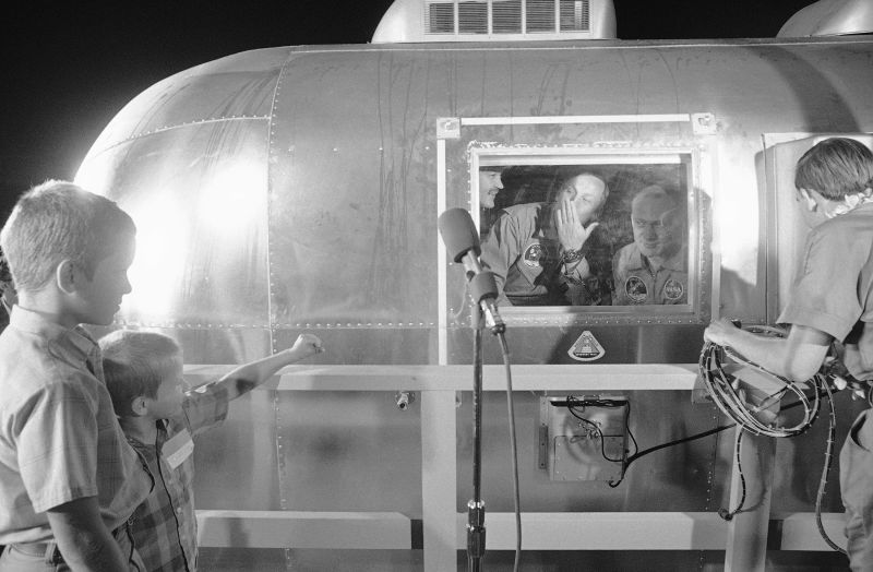 Apollo 11 Airstream Containment Unit