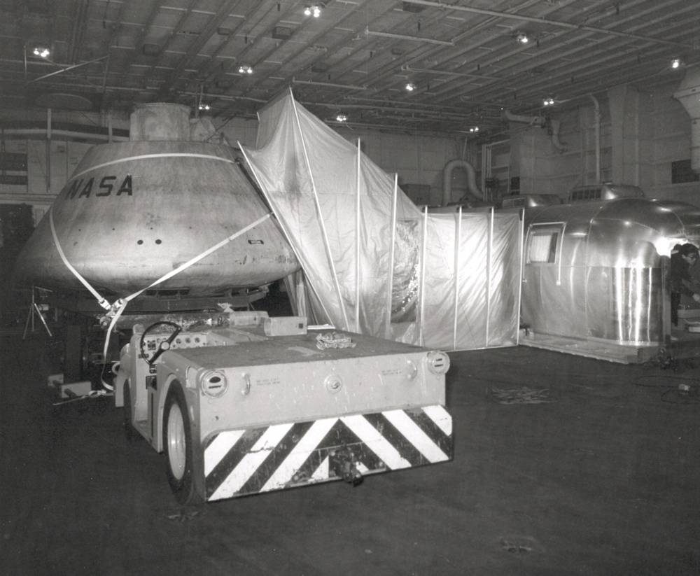 Apollo 11 Mobile Quarantine Unit