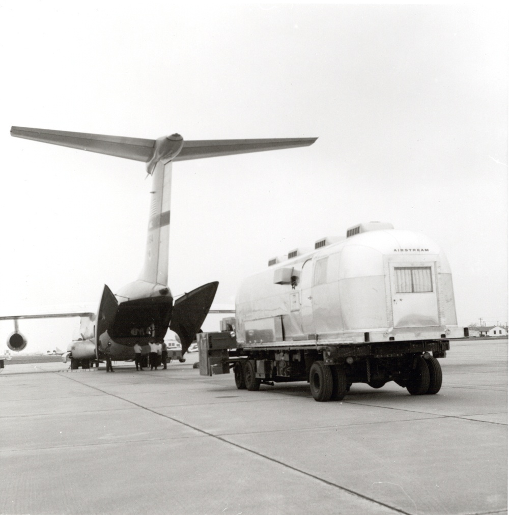 Apollo 11 Mobile Quarantine Unit Boarding C-141