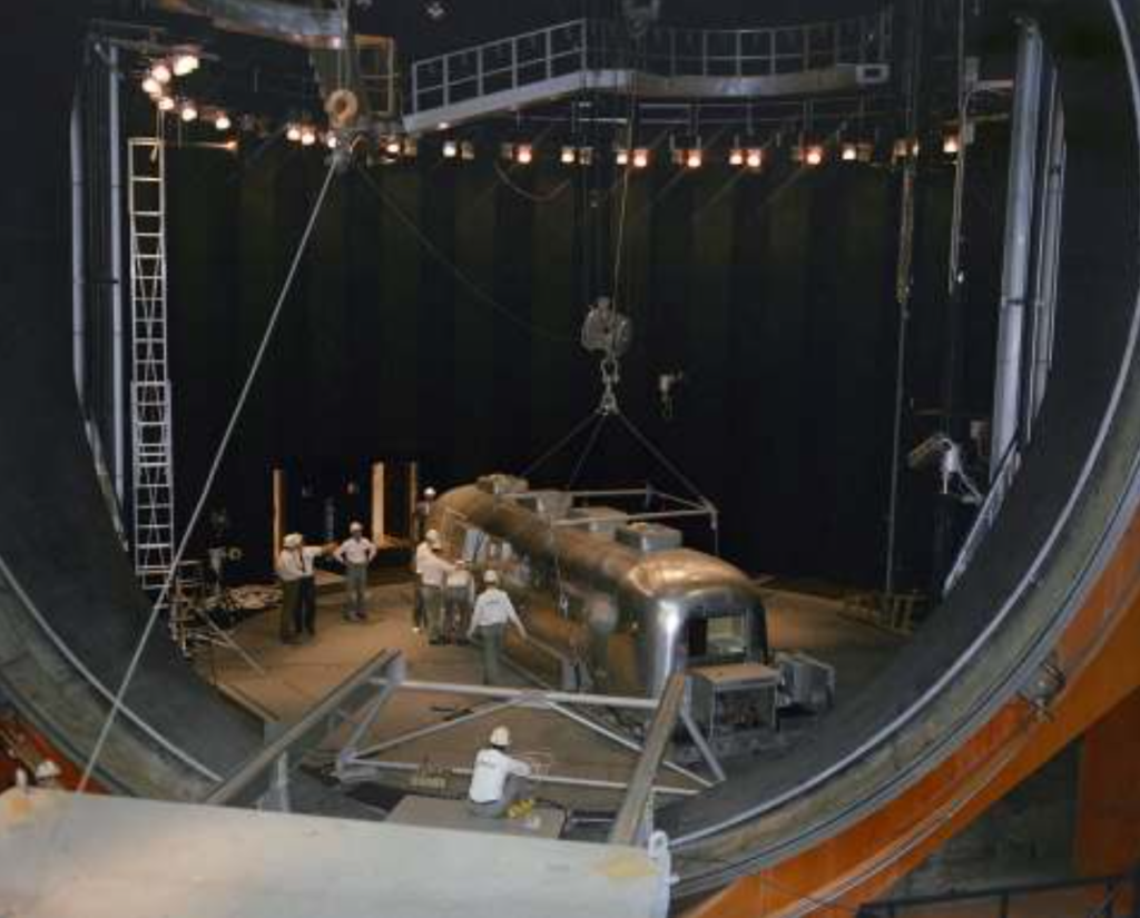 Apollo 11 Airstream in Altitude Chamber