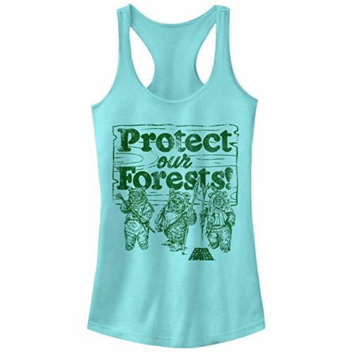 Rake America Great Again by helping the Ewoks Protect our Forests. Smokey the Bear isn't our Only Forest Friend with an Important Message.Glamp in Style.