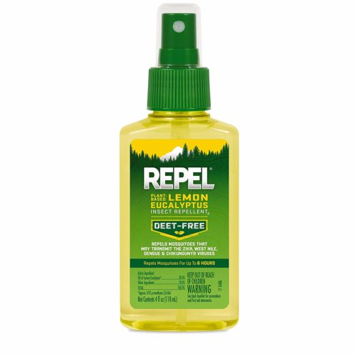 Repel is one deet-free mosquito repellent that I stand behind, especially when glamping with the Toaster Adrift in the great outdoors.